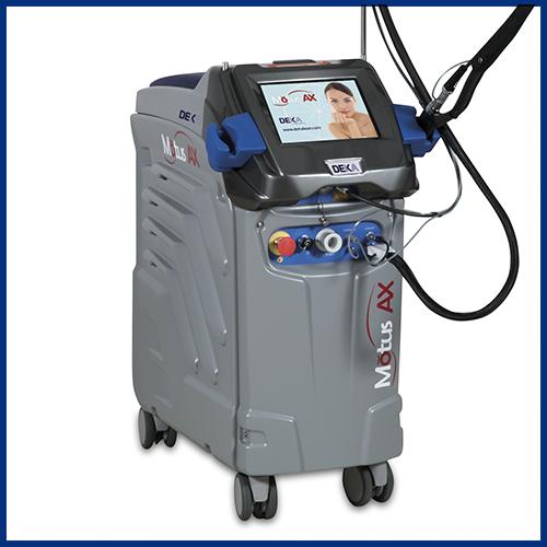 laser depilacion motus ax